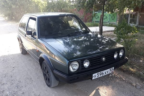 Volkswagen Golf 1989 года