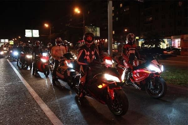 Ночные мотоциклисты