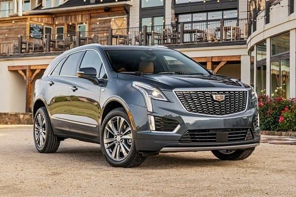 Cadillac XT5 2020 года