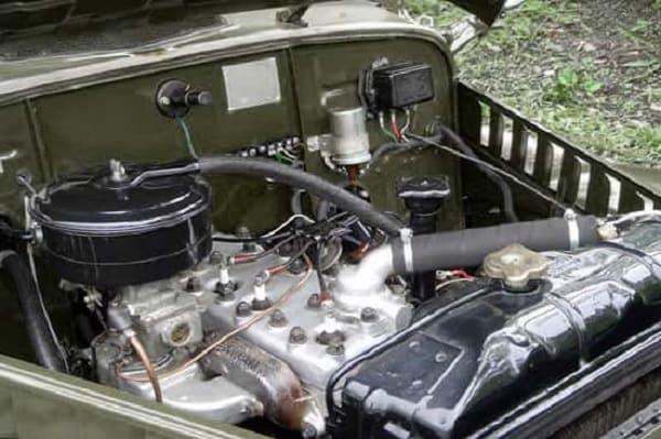 Двигатель-ГАЗ-69