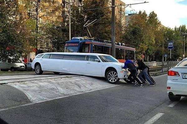 Клиренс лимузина