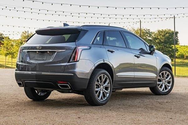 Кроссовер Cadillac XT5