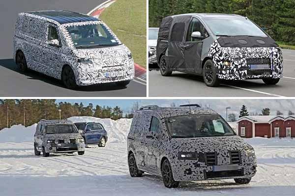 Минивэны 2021 года Volkswagen Transporter, Hyundai H1, Mercedes-Benz Citan