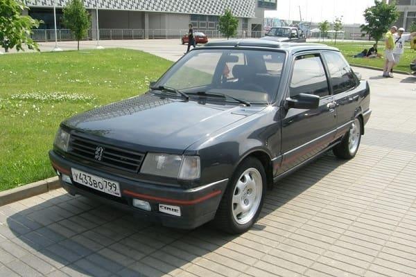 Peugeot 309 GTI 1988 года