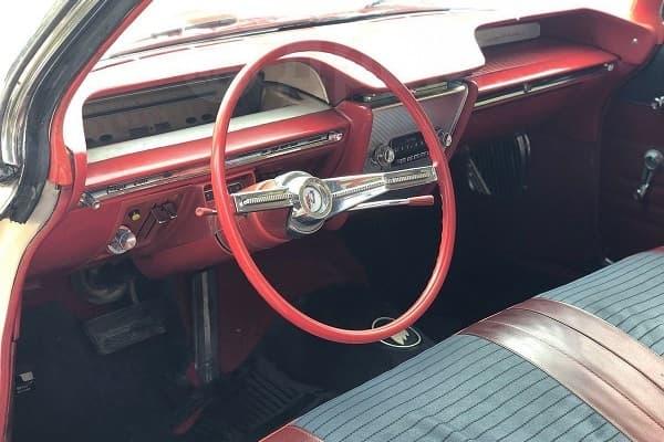 Салон Buick LeSabre 1961 года