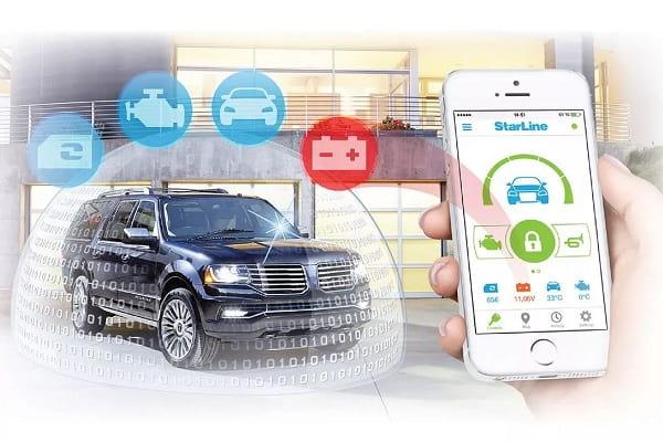 Автомобильная сигнализация в смартфоне
