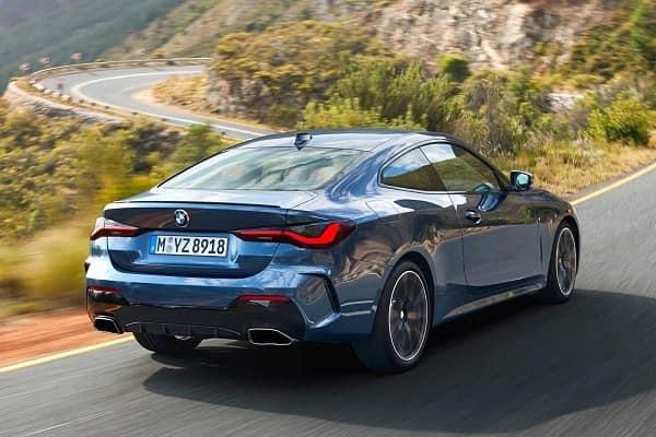 Купе BMW 4-Series 2020 года