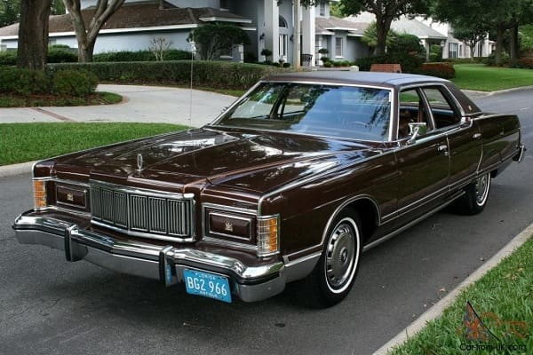 Mercury Grand Marquis 1978 года
