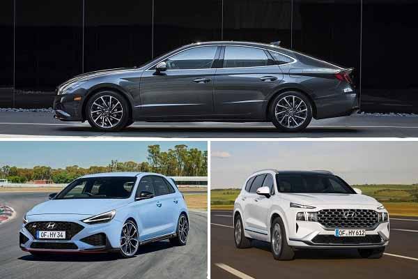 Новинки Hyundai 2020 года Hyundai Sonata, Hyundai i30, Hyundai Santa Fe