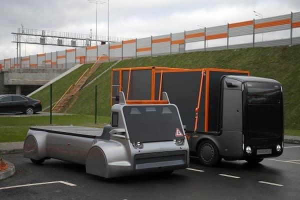 Российский беспилотный грузовик