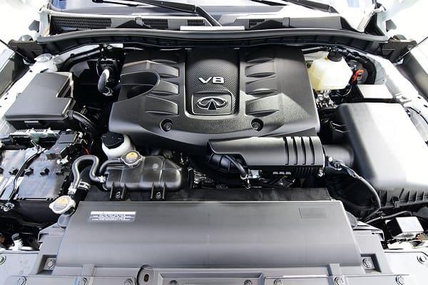 Двигатель Infiniti QX80 2020 года