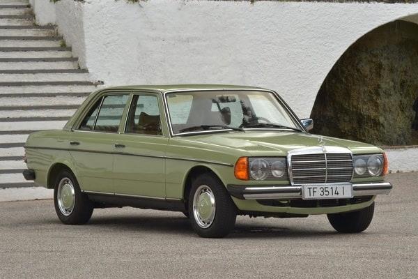 Mercedes-Benz W123 1980 года