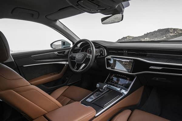 Салон Audi A6 с дизельным двигателем