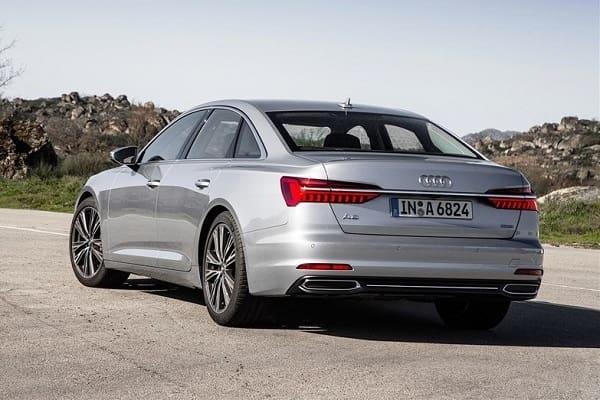 Седан Audi A6 с дизельным двигателем
